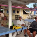Chilling out on Anegada.