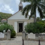 The Anglicans have a solid little church right on the main harbour. It was built in 1855.