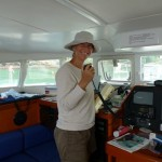 Gayle is awesome on the VHF radio.