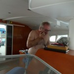 """Now that Gayle has paved the way, Tony braved the airwaves today to announce at """"Treasures of the Bilge"""" time that we have a surface-supplied air system for sale. [To see what that is, check out http://www.browniedive.com/thirdlungdiving.]"""