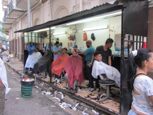 This is the Whole Haircut Stall