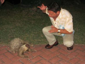 Eric and The Sloth…Talking About Options