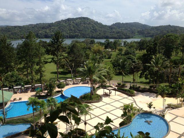 The pool at the Gamboa Rainforest Resort.