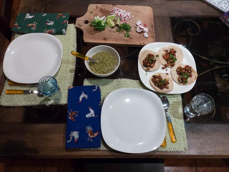 Voila: Iguana Tacos